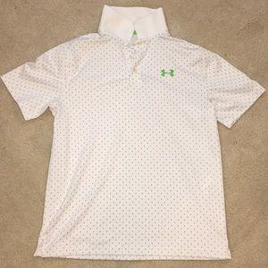 Boys Under Armor golf shirt